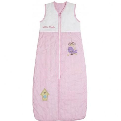 Sac de dormit Slumbersac Pink Bird 1-3 ani 2.5 Tog