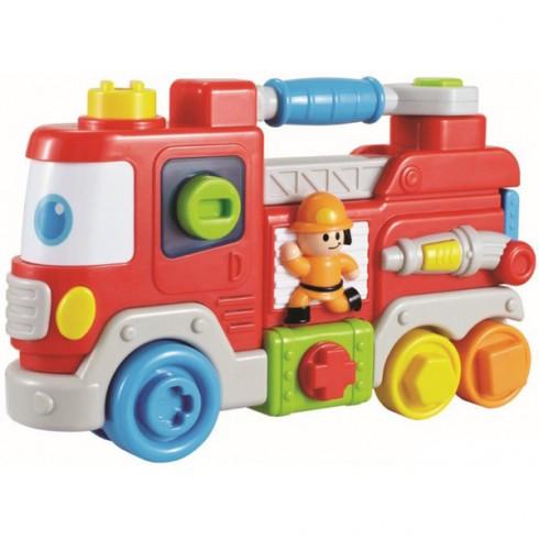 Jucarie interactiva Baby Mix Camion de pompieri