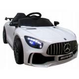 Masinuta electrica R-Sport Mercedes AMG GTR-S alb