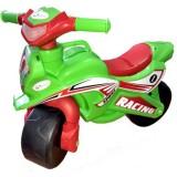 Motocicleta de impins MyKids Racing 013915 verde rosu