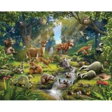 Tapet Walltastic Animals of the Forest