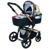 Carucior Foppapedretti iWood 3 in 1 multicolor