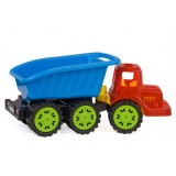 Camion pentru copii Marmat S cabina rosie