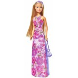 Papusa Simba Steffi Love Flower Party 29 cm mov {WWWWWproduct_manufacturerWWWWW}ZZZZZ]