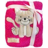 Patura Bobobaby Pisicuta roz
