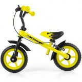 Bicicleta fara pedale Milly Mally Dragon Z gelb