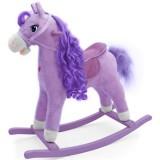 Calut balansoar Milly Mally Princess cu sunete si miscare violet