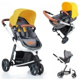 Carucior Kiddo Juke 2 in 1 lemon