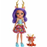 Papusa Enchantimals by Mattel Danessa Deer cu figurina {WWWWWproduct_manufacturerWWWWW}ZZZZZ]