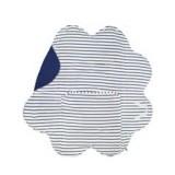 Patura floare Wallaboo Soft blue striped