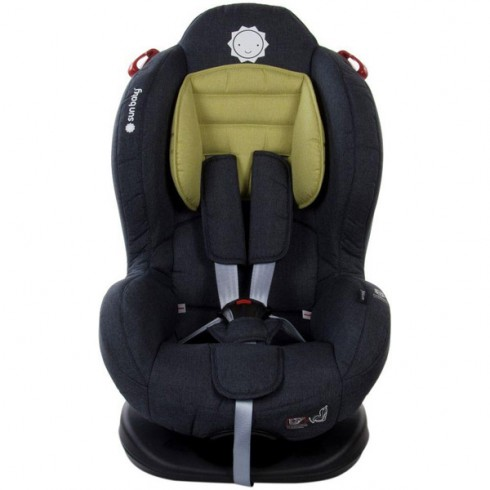 Scaun auto Sun Baby Shock Reducer cu sistem Isofix olive