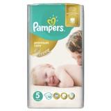 Scutece Pampers premium care 5 jumbo pack 56 buc pentru 11-18 kg
