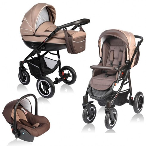 Carucior Vessanti Crooner 3 in 1 beige