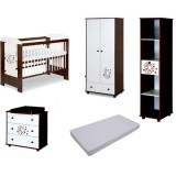 Mobilier Klups Teddy with stars wenge 1