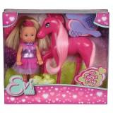 Papusa Simba Evi Love Fairy 12 cm cu ponei Pony si accesorii {WWWWWproduct_manufacturerWWWWW}ZZZZZ]