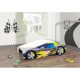 Patut MyKids Race Car 06 Black 140x70