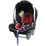 Scaun auto Klippan Dinofix Black Dark red