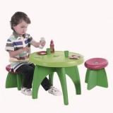 Set Ecoiffier Masuta cu scaunele