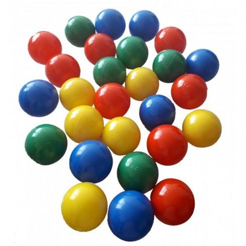 Set 100 bile Super Plastic Toys Colour Splash