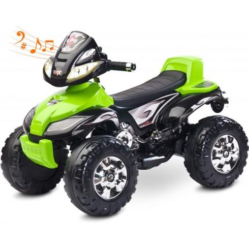 ATV Toyz Quad Cuatro 6V green