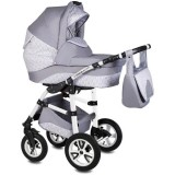 Carucior Vessanti Flamingo Easy Drive 3 in 1 light gray