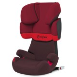 Scaun auto Cybex Solution X Fix rumba red dark red cu Isofix