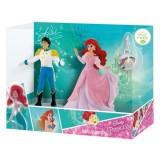 Set 2 figurine si medalion Bullyland Ariel si Eric