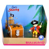 Set figurina Bullyland Capitanul Sharky
