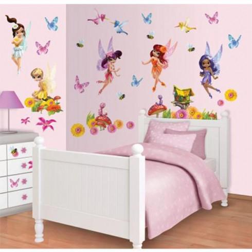 Kit decor Walltastic Magical Fairies