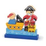 Puzzle 3D Magnetic Viga Pirat