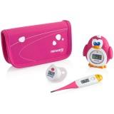 Set termometre Miniland Thermokit pink