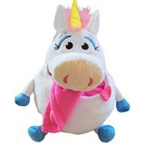 Jucarie de plus Jay At Play Tummy Stuffers Unicorn alb