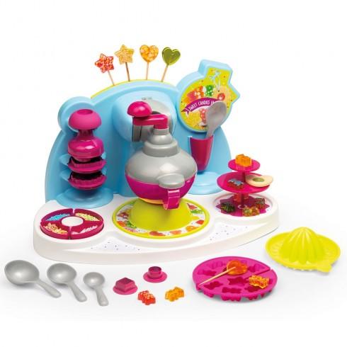 Jucarie Smoby Aparat pentru preparare dulciuri Chef Sweet Candies Factory cu accesorii {WWWWWproduct_manufacturerWWWWW}ZZZZZ]