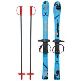Skiuri copii Marmat 90 cm Albastru