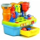 Jucarie Hola Toys banc de lucru cu muzica si lumini