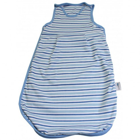 Sac de dormit Slumbersac Blue Stripes 0-3 luni 2.5 Tog
