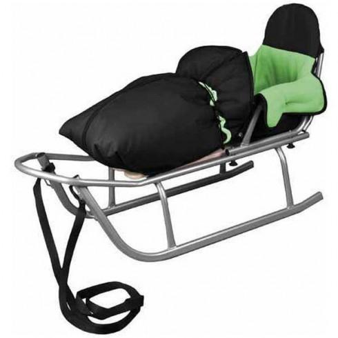 Sanie Baby Dreams Rider cu Sac Speedy verde