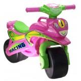 Motocicleta de impins MyKids Racing 01393 roz verde