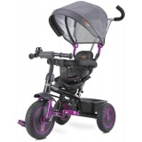 Tricicleta cu copertina si sezut reversibil Toyz Buzz purple