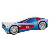 Patut MyKids Race Car 02 Blue 140x70