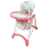 Scaun de masa Baby Mix Hungry Sheep pink