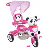 Tricicleta cu copertina Arti Panda 2 roz