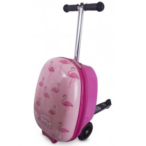 Trotineta cu rucsac Zinc Flyte scooter & case 2 in 1 Fifi the Flamingo