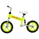 Bicicleta fara pedale Kidcity Hit Mamakids 12 verde