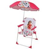 Scaun pliabil Fun House Elena din Avalor cu umbrela de soare