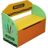 Bancuta depozitare Style Crayon green