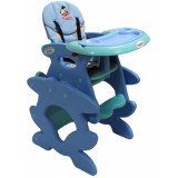 Scaun de masa Arti Betty J-d008 albastru verde