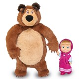 Set Simba Masha and The Bear papusa Masha 12 cm si ursulet de plus 25 cm {WWWWWproduct_manufacturerWWWWW}ZZZZZ]