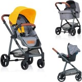 Carucior Kiddo Jazz Deluxe 3 in 1 lemon