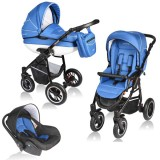 Carucior Vessanti Crooner 3 in 1 blue
